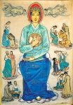 七樂의 묵주기도 성모