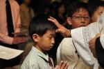 2010년 4월 24일 첫영성체반 세례식
