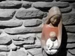 루르드 성지에서 모셔온 성모상