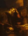 렘브란트의 사도 바오로(The Apostle Paul)