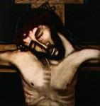 십자가위의 예수님